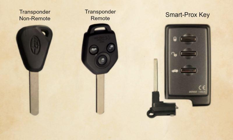 Replace Lost Subaru Car Keys Auto Key Replacements